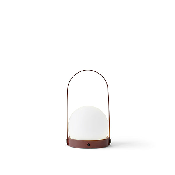 Carrie LED Lamp Burned Red by Norm Architects for Menu