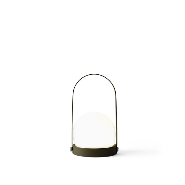 Carrie LED Lamp Olive by Norm Architects for Menu