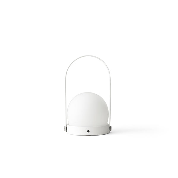 Carrie LED Lamp White by Norm Architects for Menu