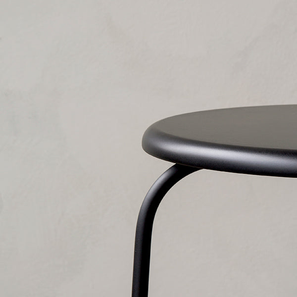 Afteroom Stool Black by Afteroom for Menu