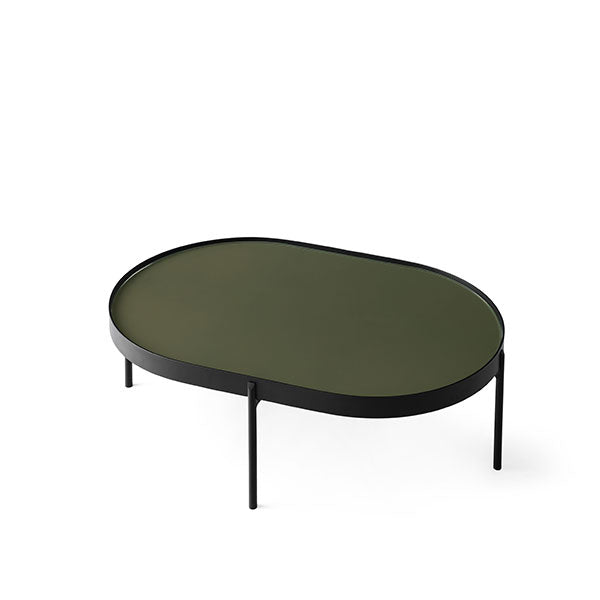 NoNo Table Large, Dark Green by Note Design Studio & Norm Architects for Menu
