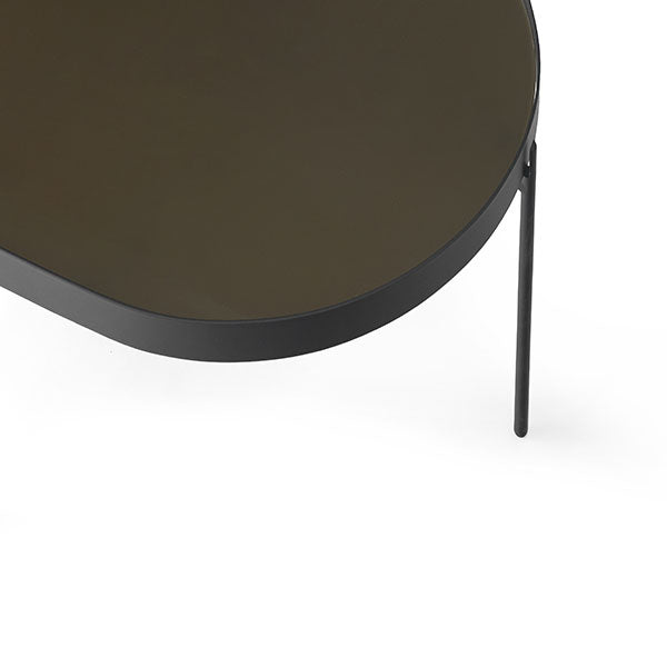 NoNo Table Large, Brown by Note Design Studio & Norm Architects for Menu