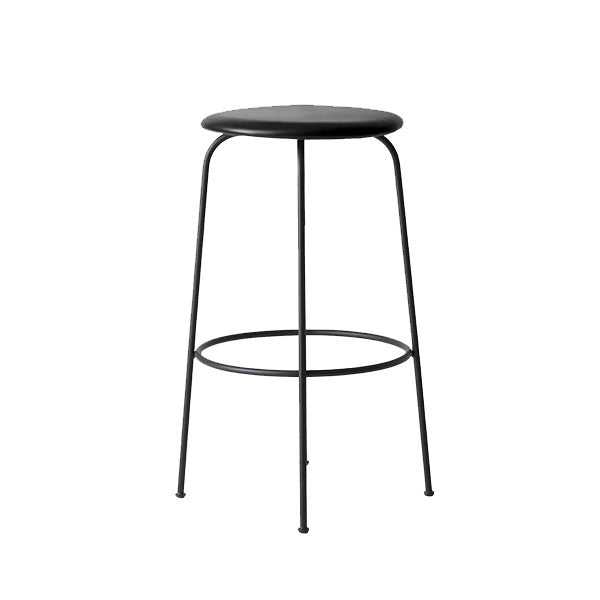 "Afteroom Bar Stool Black ""Shade"" Leather by Afteroom for Menu"