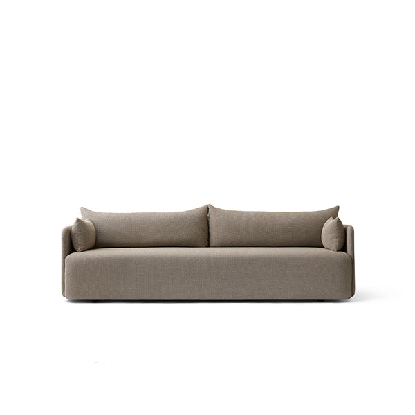 Offset 3 Seater Sofa Dark Sand by Norm Architects for Menu