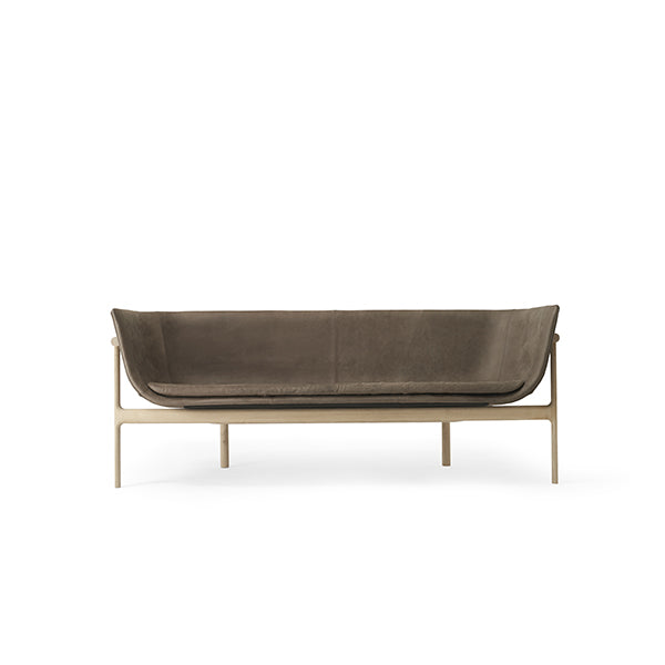 Tailor Lounge Sofa Dark Brown Leather by Rui Alves for Menu