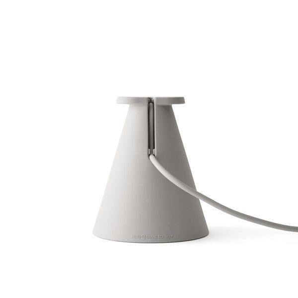 Bollard Lamp Ash by Shane Schneck for Menu - Vertigo Home
