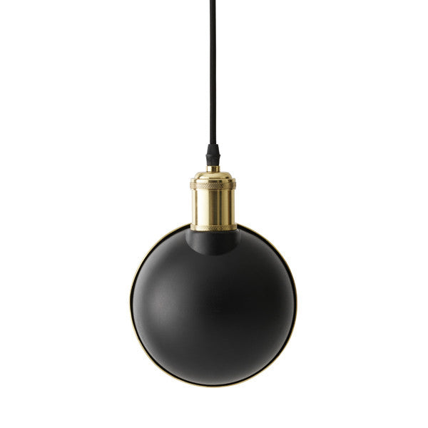 Tribeca Duane Pendant Lamp Black by Søren Rose for Menu at www.vertigohome.us