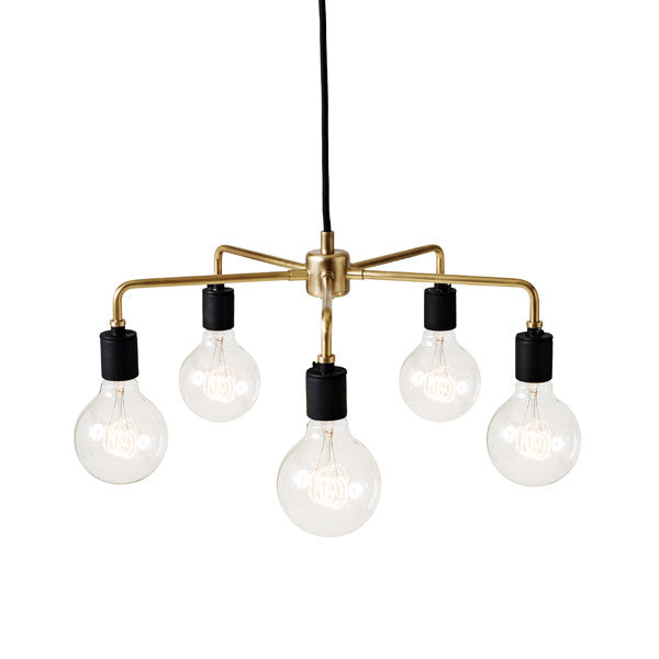 Tribeca Leonard Chandelier Brass by Søren Rose for Menu - Vertigo Home
