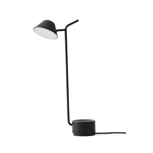 Peek Table Lamp Black by Jonas Wagell for Menu at www.vertigohome.us