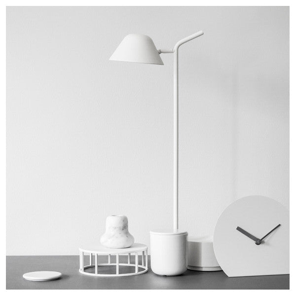 Peek Table Lamp White by Jonas Wagell for Menu at www.vertigohome.us