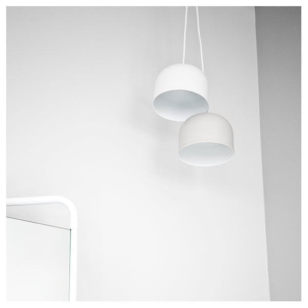 GM Pendant Lamp 30 White by Grethe Meyer for Menu