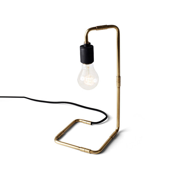 Tribeca Reade Table Lamp Brass by Søren Rose for Menu - Vertigo Home