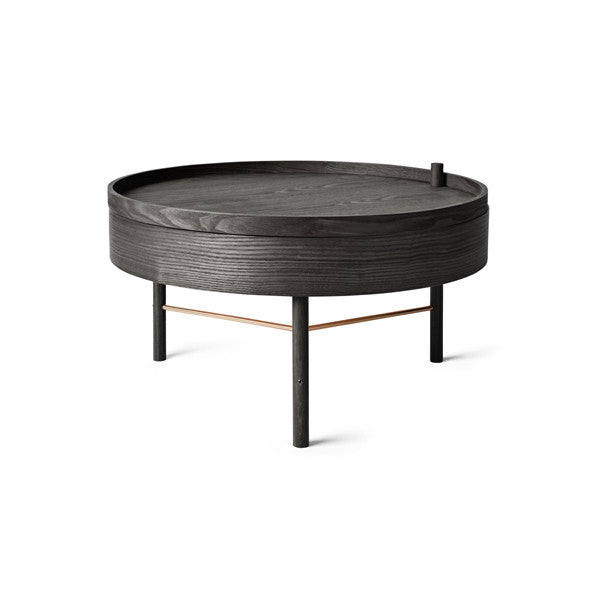 Turning Table Black Ash by Theresa Arns for Menu - Vertigo Home