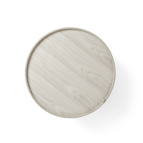 Turning Table White Oak by Theresa Arns for Menu - Vertigo Home