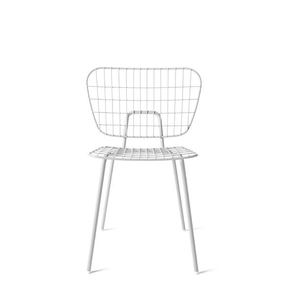 WM String Dining Chair White Set Of 2 By Studio WM For Menu