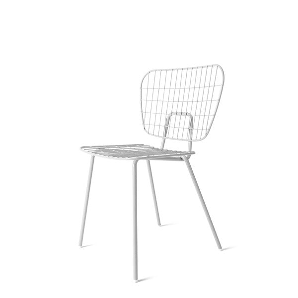 WM String Dining Chair White Set of 2 by Studio WM for Menu - Vertigo Home
