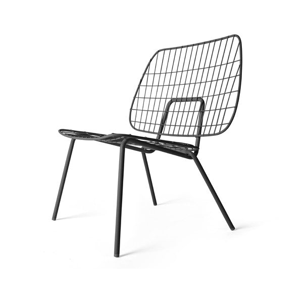 WM String Lounge Chair Black Set of 2 by Studio WM for Menu - Vertigo Home