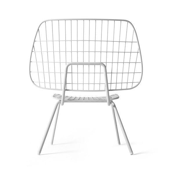 WM String Lounge Chair White Set of 2 by Studio WM for Menu - Vertigo Home