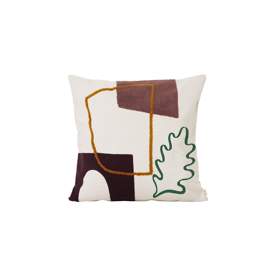 Mirage Cushion Leaf by Ferm Living