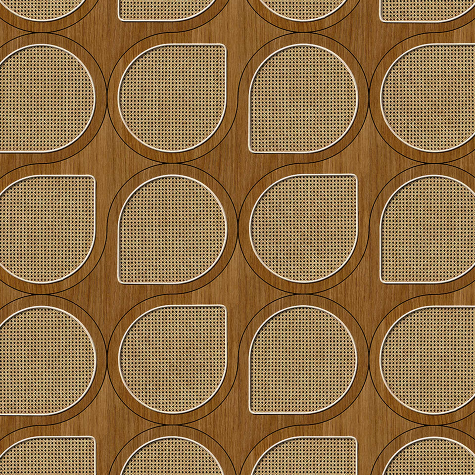 Drops Cane Webbing Wallpaper by NLXL
