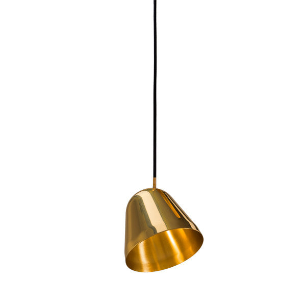Tilt Pendant Brass by NYTA - Vertigo Home