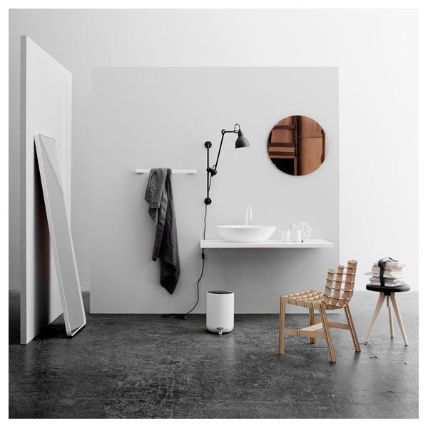 Norm Floor Mirror White by Norm Architects for Menu - Vertigo Home