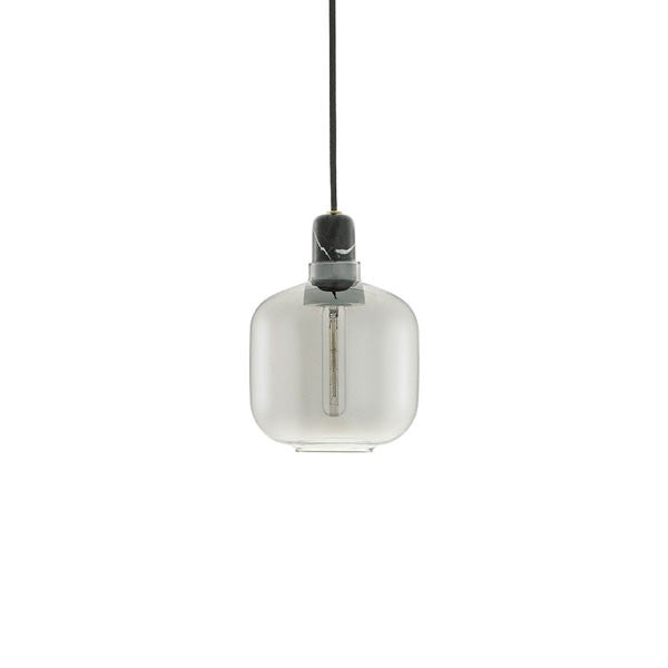 Amp Lamp - Black/Smoke - Small by Simon Legald for Normann Copenhagen