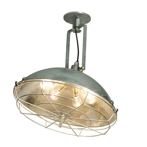 Cargo Cluster Wall Light Glavanized by Original BTC / Davey Lighting - Vertigo Home
