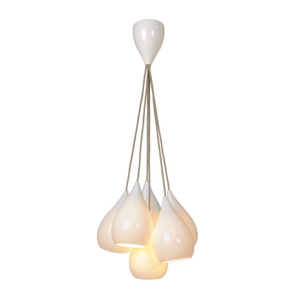Drop One Grouping of 6 Pendant Light by Original BTC - Vertigo Home