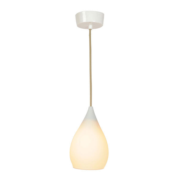 Drop One Pendant Light Matte White by Original BTC - Vertigo Home