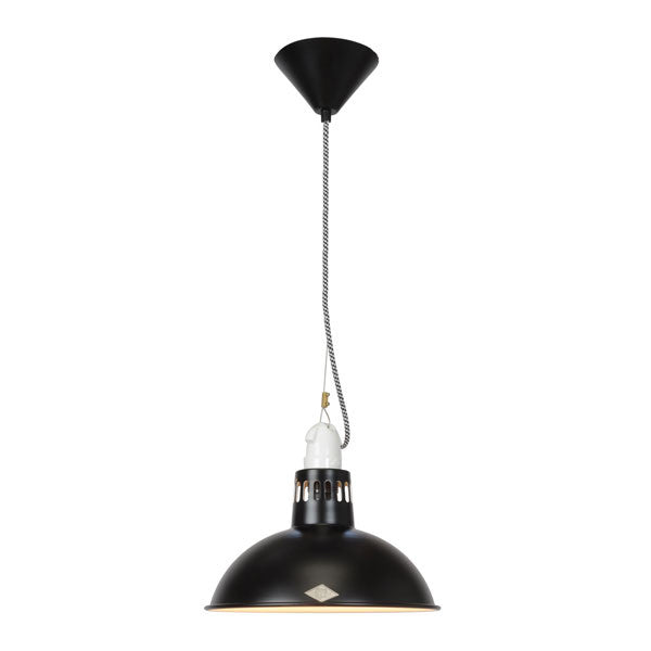 Paxo Pendant Light Black by Original BTC