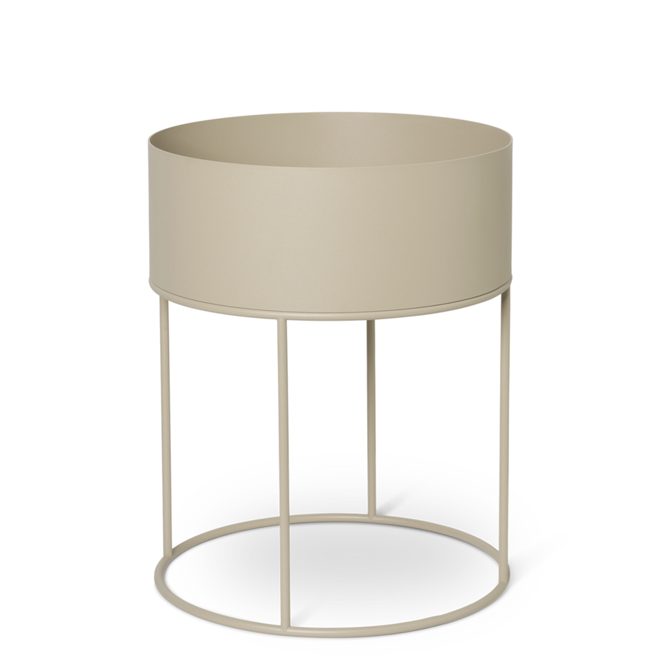 Plant Box Round - Cashmere by Ferm Living