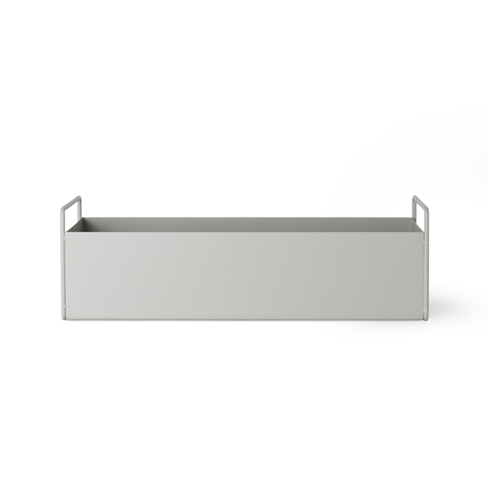 Plant Box Small - Light Grey by Ferm Living