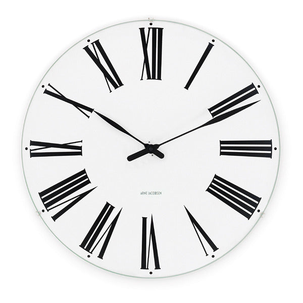 Arne Jacobsen Roman Clock from Rosendahl - Vertigo Home