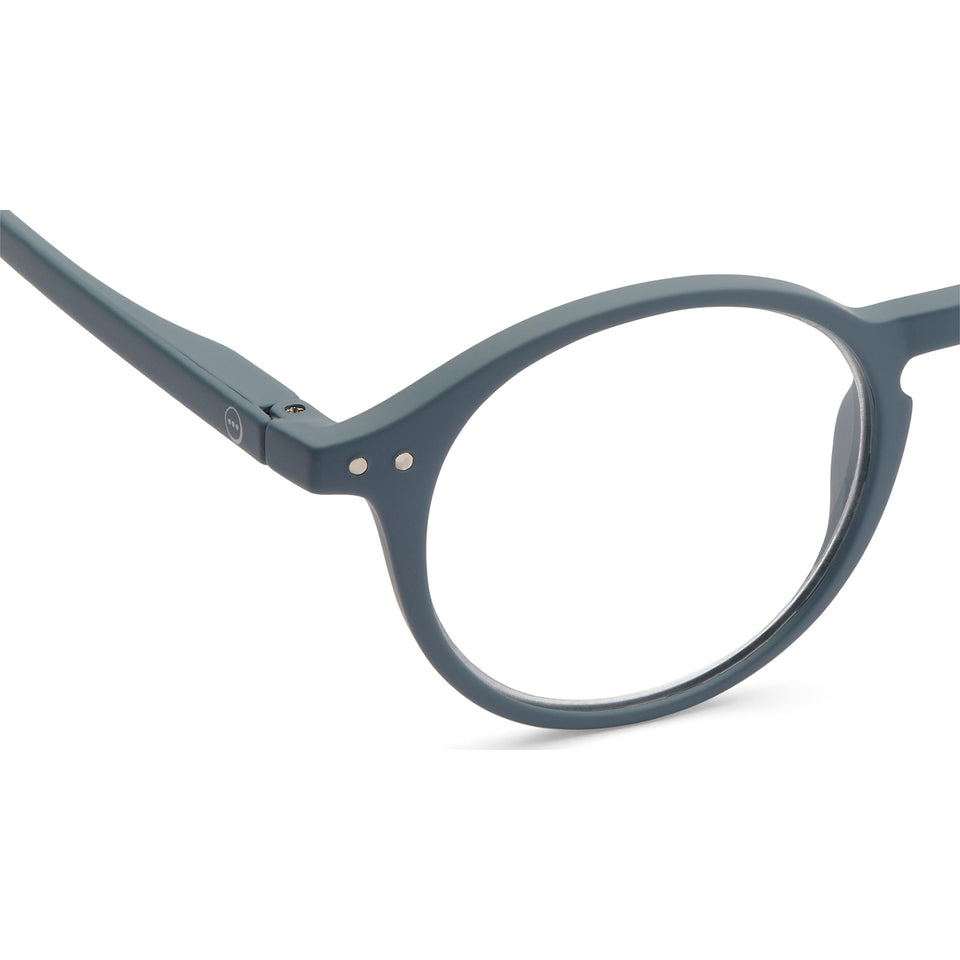 Grey Soft #D Reading Glasses by Izipizi