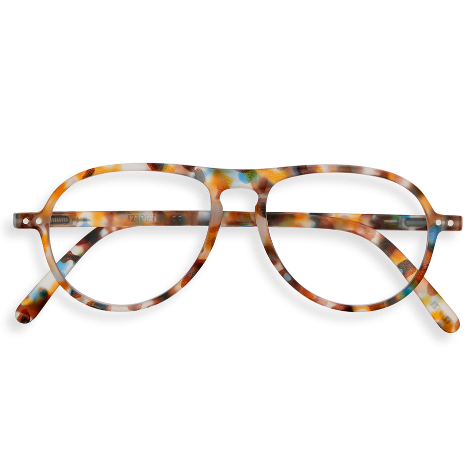 Blue Tortoise #K Aviator Reading Glasses by Izipizi