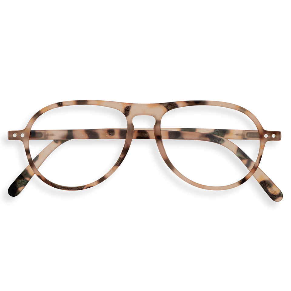 Light Tortoise #K Aviator Reading Glasses by Izipizi