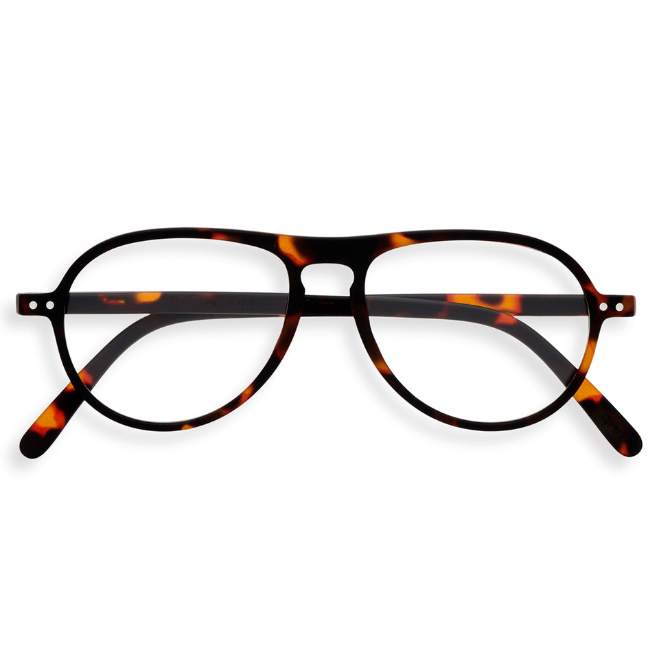 Tortoise #K Aviator Reading Glasses by Izipizi