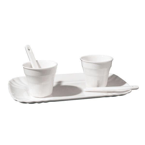 Seletti Estetico Quotidiano Coffee Set 2 Cups + 1 Tray