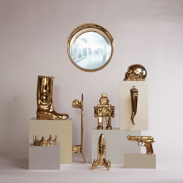 Seletti Memorabilia My Lucky Horn Gold Limited Edition - Vertigo Home