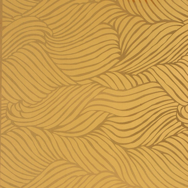 Sheba - Gold on Copper Mylar Wallpaper by Flavor Paper - Vertigo Home