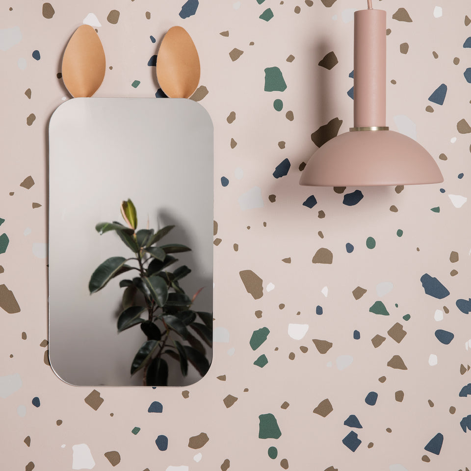 Terrazzo Wallpaper - Rose by Ferm Living