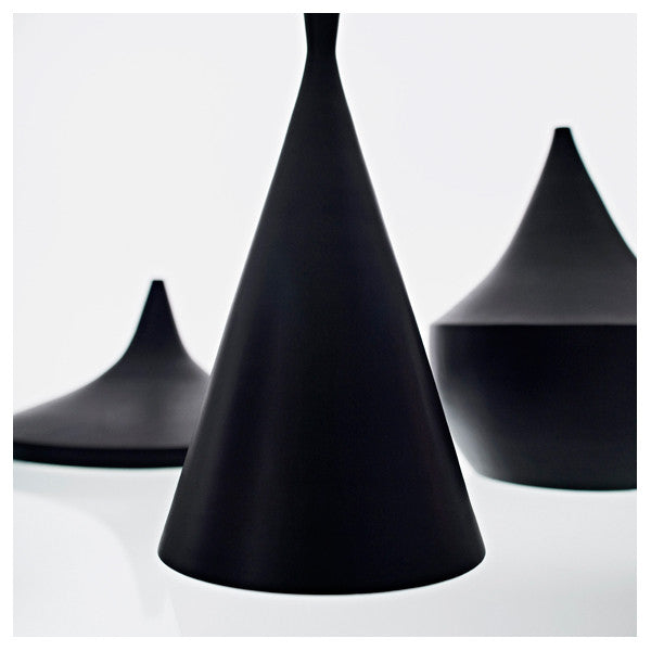 Tom Dixon Beat Light Pendant - Tall - Black