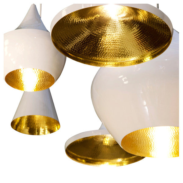 Tom Dixon Beat Light - Wide - White