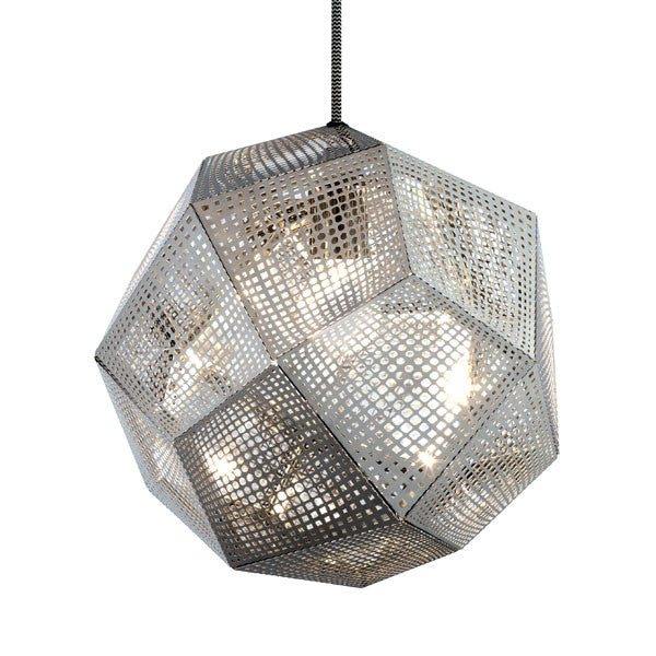Etch Steel Shade Pendant - Vertigo Home