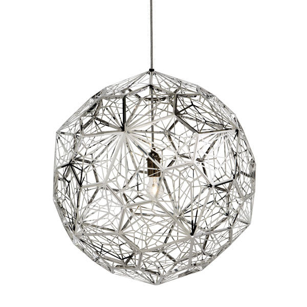 Etch Web Steel Pendant - Vertigo Home