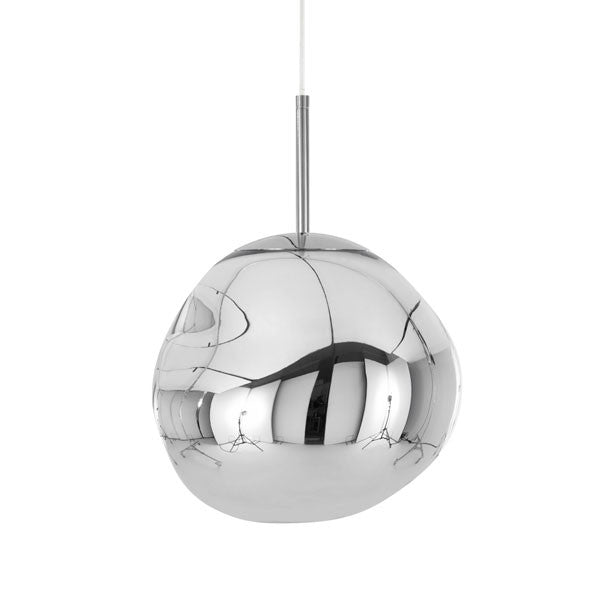 Melt Chrome Pendant by Tom Dixon - Vertigo Home