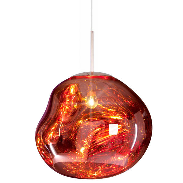 Melt Copper Pendant by Tom Dixon - Vertigo Home