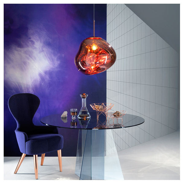 Melt Copper Pendant by Tom Dixon