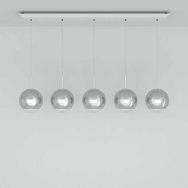 Mirror Ball 25cm Linear Pendant System by Tom Dixon